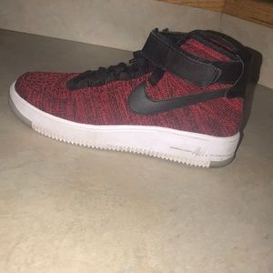 Nike Air Force 1 mid fly knit